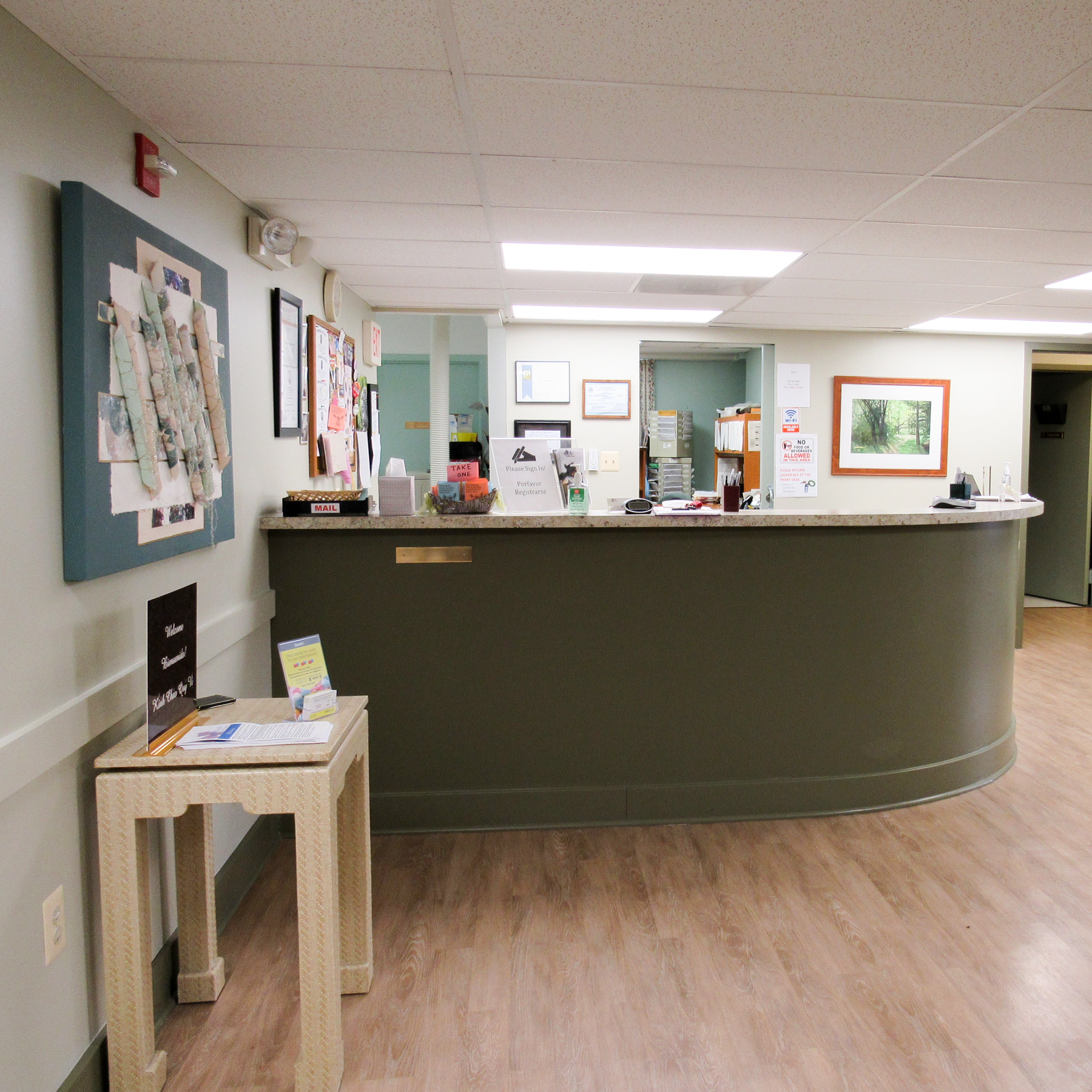 Tour Our Center - images of a SAFE and PRIVATE abortion clinic
